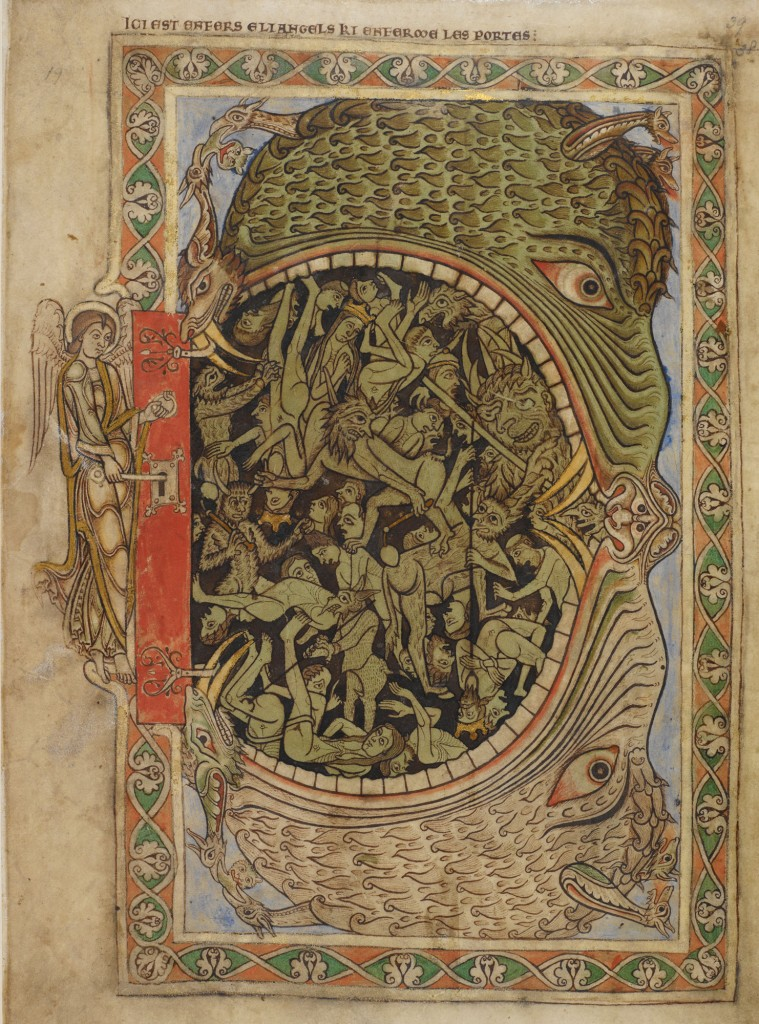 London, British Library, Cotton MS Nero C IV, c. 1220-29, fol. 39r