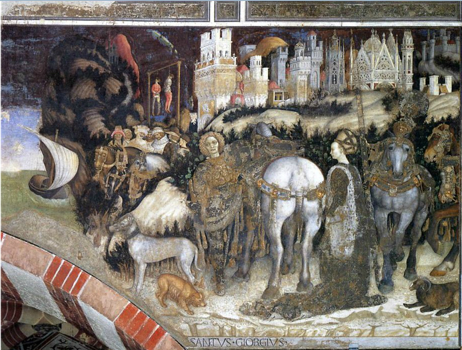 5. Pisanello St George and the Princess